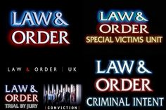 Law and Order ..love it!