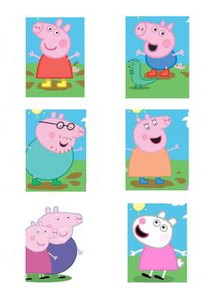Last year she wanted peppa, this year its george. lol Oinkingly Amazing Peppa Pig Party Ideas — How to Run a Kids Party Fiestas Peppa Pig, Cumple Peppa Pig, Pig Birthday, 4th Birthday Parties, George Pig Party, Peppa Pig Family, Party Time, Baby, Peppa Pig Printables