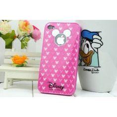 disney iPhone case with mickey logo $6