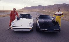 1988 Porsche 911 Club Sport and Chevrolet Corvette Z51 Chevrolet Corvette, Chevy, Porsche Cars, Hot Rides, Car And Driver, Road Racing, Race Cars, North America, Gallery