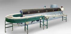 "C-16 return conveyor washer:  16"" wide belt"