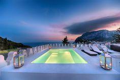 Villa Ferraro, Capri - Italy mediterran-pools