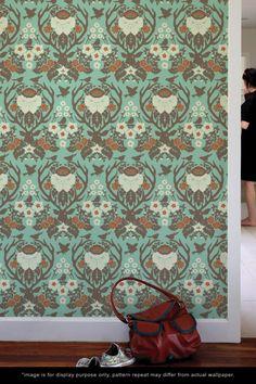 Joel Dewberry wallpaper... Will go in my down stairs bathroom!
