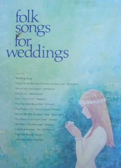 Folk Songs for Weddings Sheet Music Songbook