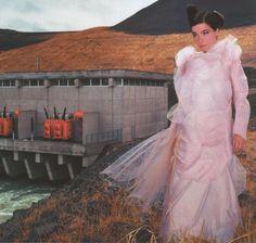 Bjork + Photo: Joseph Cultice + URB Magazine 2001