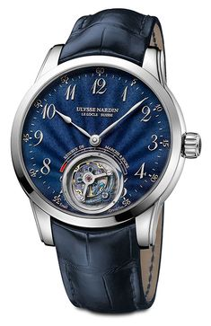 Ulysse Nardin introduces the new Ulysse Anchor Tourbillon reference nubmers 1780-133/E3 and 1786-133/E3.