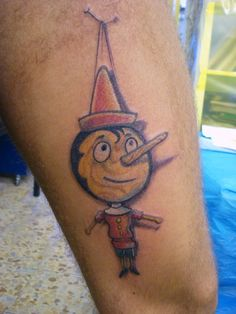 pinocchio tattoo - photo #28