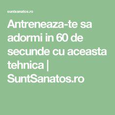 Antreneaza-te sa adormi in 60 de secunde cu aceasta tehnica  | SuntSanatos.ro