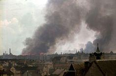 Budapest 1944 bombázás után.