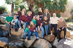 Large family pictures, Palm Desert