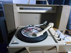 GE Wildcat Portable record player