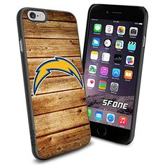"""San Diego Chargers NFL Wood iPhone 6 4.7"""" Case Cover Protector for iPhone 6 TPU Rubber Case SHUMMA http://www.amazon.com/dp/B00VR33808/ref=cm_sw_r_pi_dp_MV3vvb0A9MKFB"""