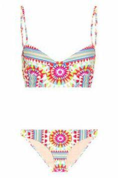 Mara Hoffman Shakti Printed Underwired Bikini - on sale Summer Of Love, Summer Wear, Spring Summer Fashion, Summer Time, Summer Chic, Pink Summer, Summer Fun, Summer Outfits, Mara Hoffman