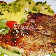 Marinovaná vepřová krkovička recept - Vareni.cz Pork, Meat, Chicken, Kale Stir Fry, Beef, Pork Chops, Cubs