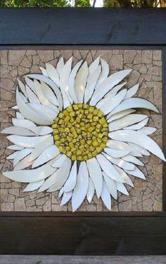 Mosaic Artwork, Mosaic Wall Art, Mosaic Diy, Mosaic Garden, Mosaic Crafts, Mosaic Projects, Mosaic Tiles, Mosaic Rocks, Stone Mosaic