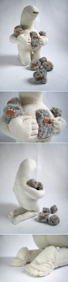 Joshua Ben Longo...make of textile monsters