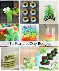 St. Patrick's Day Treat Recipes - The Idea Room
