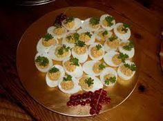 hapjes verjaardag - gevulde eieren