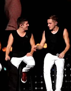 Kendall Schmidt and Logan Henderson
