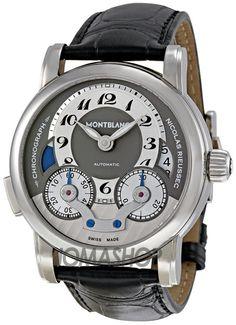 Montblanc Nicolas Rieussec Chronograph Automatic Mens Watch 102337