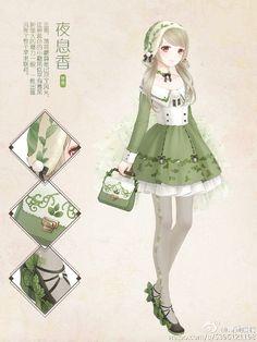 Nikki dress anime 暖暖环游世界 奇迹暖暖