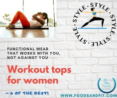 Choosing workout clothing can be a challenge in itself. But if you're looking for workout tops for women, then you have come to the right place. My latest blog introduces you to functional tops that work with you, not against you. Wear them to the gym, work or at home. There's a range of types of tops to suit all occasions and styles too. They're great gifts too! Fitness Equipment, No Equipment Workout, Workout Tops For Women, Workout Clothing, Comfy Casual, Active Wear For Women, Athleisure, How To Introduce Yourself, Gym Bag