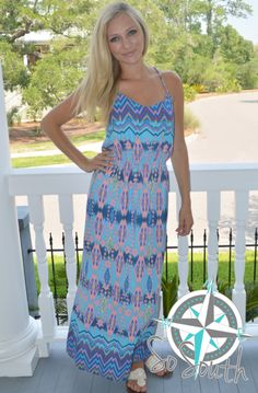 SoSouth Boutique - www.SoSouthBoutique.com Ikat Print, Beach Day, Online Boutiques, Charleston, Overalls, Stylish, Shopping, Collection, Dresses
