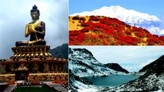 Places to visit in Gangtok are alluring attractions that guarantee a soothing holiday amidst tallest peaks, frozen lakes, rhododendrons & b'ful monasteries.