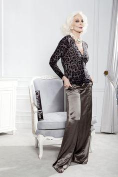 Supermodel Carmen dell'Orefice 81 years-old eternal beauty.  august 2012 NewYork Post (Alexa)  Photos: Elizabeth Lippman