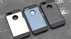 iPhone 5-5S Kılıf-Spigen Slim Armor-FÜME Logosu Açık 26,70 TL eMc Teknoloji'den