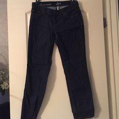 Loft curvy straight jeans. Never worn petite sz 4 Loft curvy straight jeans never worn LOFT Jeans Straight Leg