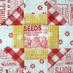 Bee In My Bonnet: Farm Girl Friday - Week Five - Churn Dash Love and I Heart Gingham!!!