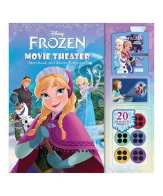 Look at this Frozen Movie Theater Hardcover