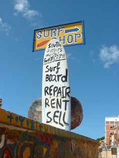 Surf Shop sign, Taghazout, Morocco via flickr