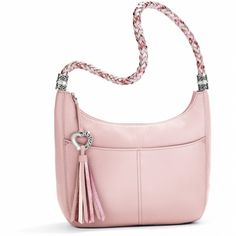 Barbados Barbados Ziptop Hobo - love this pink!!