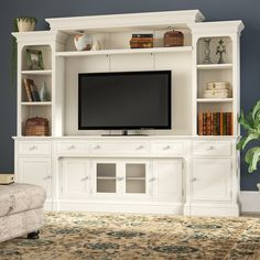 It is not that hard to find a great home entertainment center for your home. Diy Man, Living Room Entertainment Center, Entertainment Center Wall Unit, Entertainment Ideas, Tv Decor, Home Decor, Decor Ideas, Decorating Ideas, Hemnes