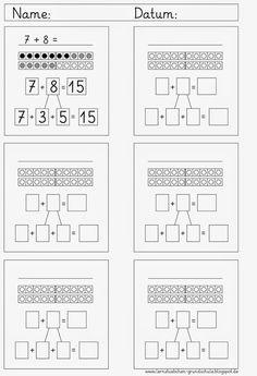 add up over tens 2nd Grade Math Worksheets, Preschool Worksheets, Math Activities, Class 1 Maths, School Of Rock, Math Strategies, Math Addition, Activity Board, Second Grade Math