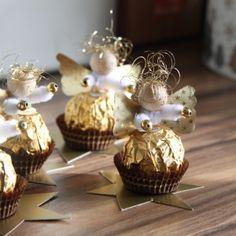 Ferrero rocher angels christmas ideas pinterest - Eltern weihnachtsgeschenke ...