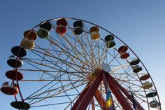 #Maailmanpyörä #tivoli Ferris Wheel, Fair Grounds, Beautiful, Big Wheel