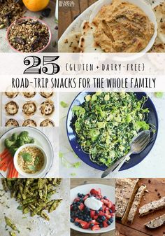 25 Gluten + Dairy-free Road-trip Snacks – Radiantly You Healthy Food Choices, Heart Healthy Recipes, Healthy Meals For Kids, Healthy Snacks, Healthy Eating, Snack Recipes, Gluten Free Snacks, Dairy Free Recipes, Road Trip Snacks