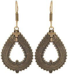 Waama Jewels Golden Brass Dangle & Drop Earrings for Women bollywood Earring Artificial Jewellery, College wear, Gift for Girls Earring, weekend sale Earring, Bohemian Earrings