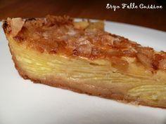 Le Crousti-Fondant Aux Pommes - ultra simple à réaliser! A consommer, si on peut tenir sans y toucher, le lendemain.