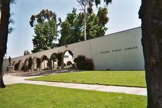 Upland City Hall and Library, Upland, California
