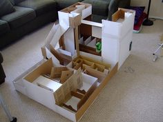 Awesome home made toy maze
