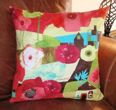Throw Pillow Cover  18x18  P & B Textiles by PersnicketyHome, $14.00