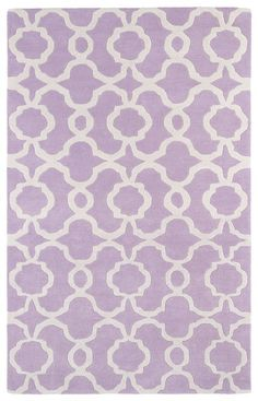 Rosenberry Rooms has everything imaginable for your child's room! Share the news and get $20 Off  your purchase! (*Minimum purchase required.) Revolution Lattice Rug in Lilac
