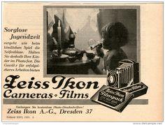 Original-Werbung/Inserat/ Anzeige 1929 - 1/2-SEITE - ZEISS IKON - ca. 110 X 145 mm
