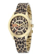 Just Cavalli Dames Horloge met leopard print Just Cavalli 74f3b295365