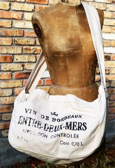 French Paperboy Bag - Cream : Shady and Katie