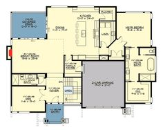 4 Bed Modern House Plan for the Sloping Lot - 23622JD   1st Floor Master Suite, Butler Walk-in Pantry, CAD Available, Contemporary, Den-Office-Library-Study, Media-Game-Home Theater, Modern, Northwest, PDF, Sloping Lot   Architectural Designs